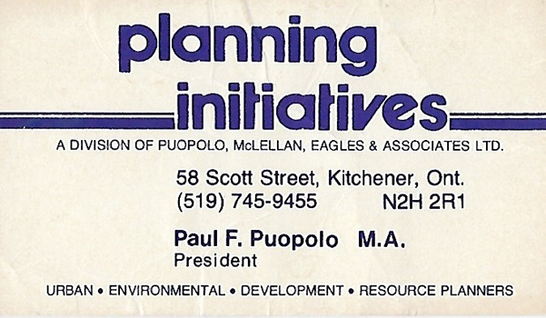 Sandy McLellan Joined Murray & Puopolo and Formed Planning Initiatives