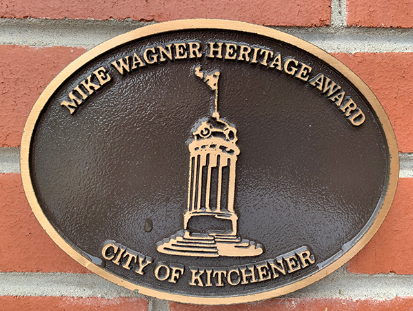 Mike Wagner Award for Queen Street Addition
